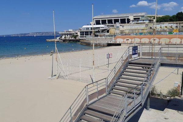 La plage des Catalans ouvrira mardi 2 juin. Elle fermera tous les soirs à 20h.