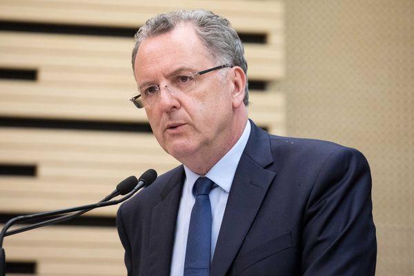 Richard Ferrand, président du groupe des députés de la République en marche à l'Assemblée nationale.
