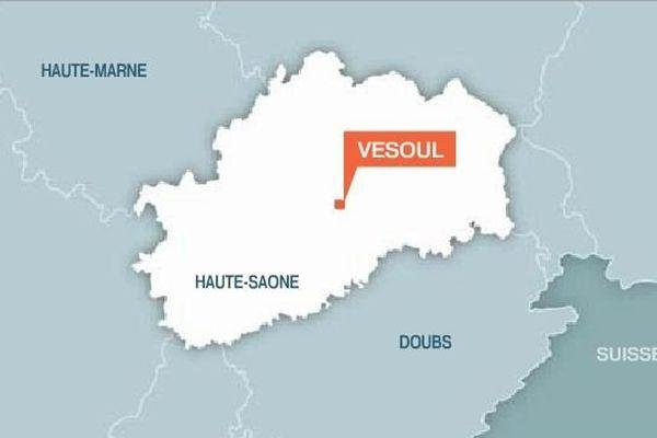 Carte Vesoul