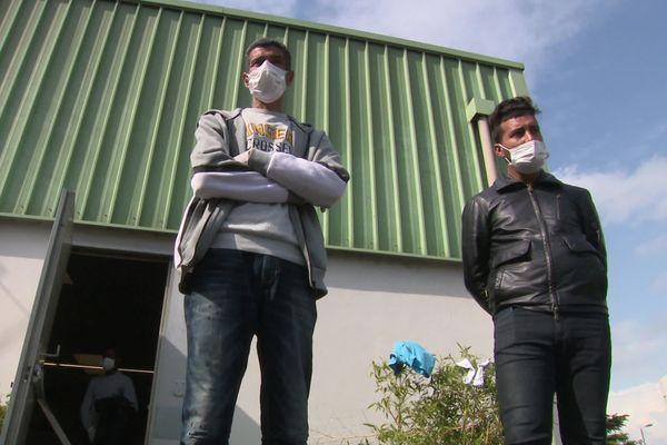 80 sans-abris sont actuellement confinés dans un gymnase de la ville de Toulouse, dans le quartier de la Reynerie.