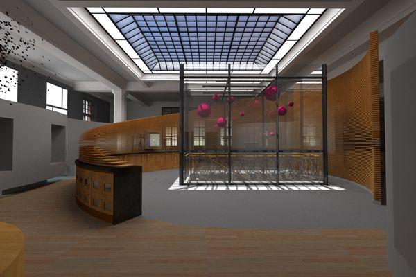 Visuel du futur musée des arts céramiques de Longwy