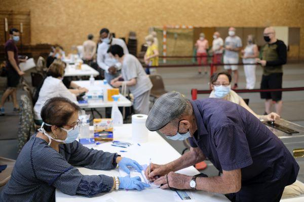 Les assesseurs des deux scrutions seront prioritaires pour la vaccination