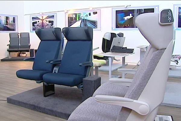 Les nouveaux sièges des trains régionaux en Normandie disponibles en 2020.