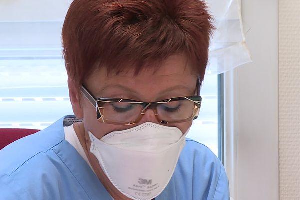Galina Netcheva, Médecin anesthésiste-réanimateur à l'Hôpital Robert-Pax de Sarreguemines.