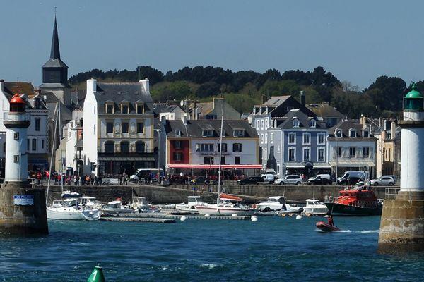 Le port Le Palais de Belle-Île-en-Mer (Morbihan)