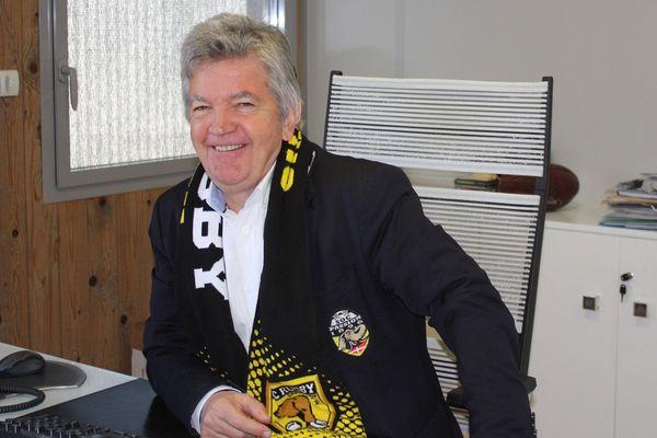 Yves Garçon, Président du SOC Rugby