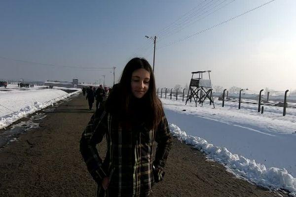 Le camp de concentration et d'extermination d'Auschwitz-Birkenau, où un million de personnes sont mortes pendant la Seconde Guerre Mondiale.