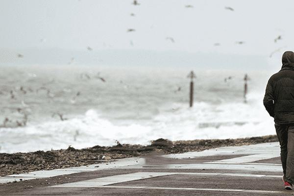 Vent sur la côte anglaise.