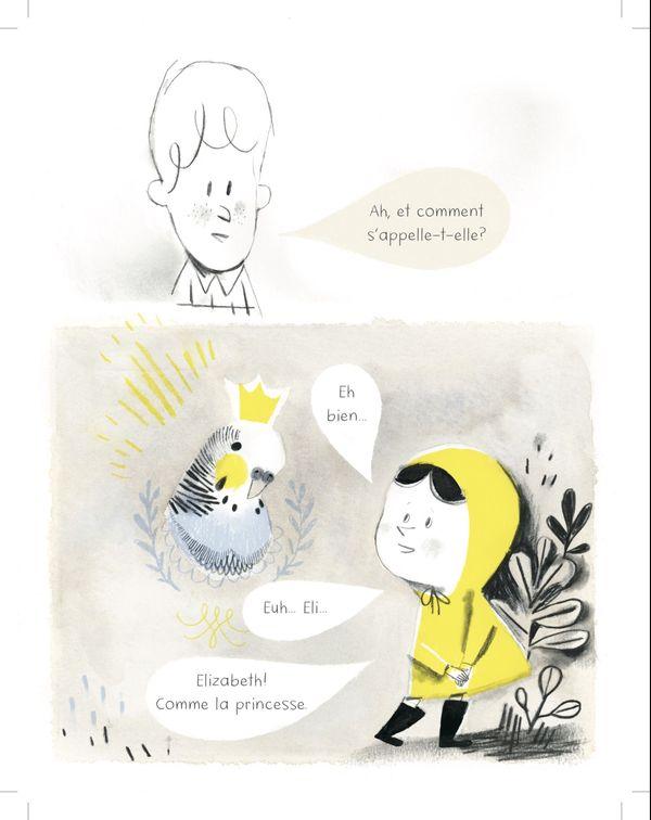 L'oiseau de Colette d'Isabelle Arsenault