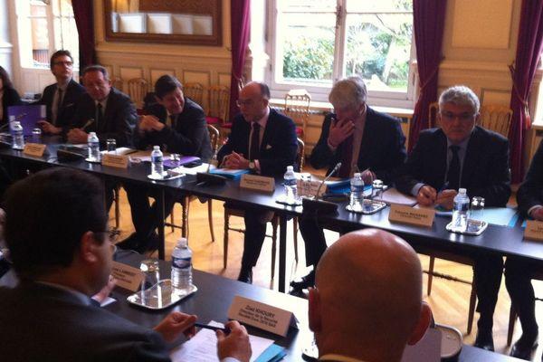 Un comité de pilotage exceptionnel s'est tenu ce mardi au ministère de l'Intérieur.