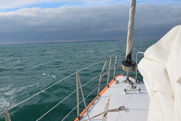 Le Tara en navigation