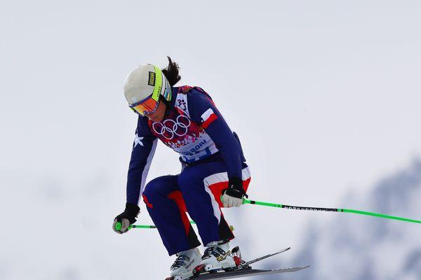 La championne de ski blessée lors des JO de Sotchi participe à la coupe d'Europe de ski cross à Orcières-Merlette