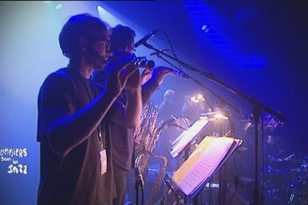 Fakear et le Big Band Bibendum ont surpris le public de Coutances.