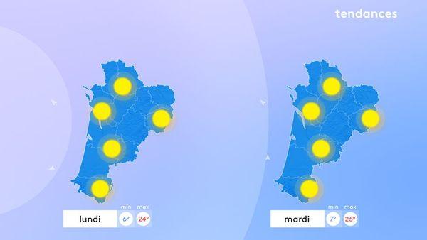 Bref aperçu de ce que nous réserve la météo la semaine prochaine :) :)