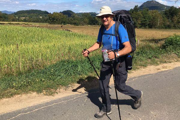 Henri Durieux est reparti pour faire avancer son projet de village de l'entraide pour les sapeurs-pompiers