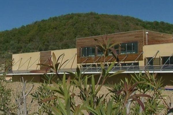 L'entreprise Melvita, à Lagorce (Ardèche)