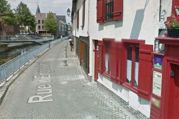 C'est dans l'une des habitations de la rue d'Engoulvent à Amiens que le drame s'est produit.