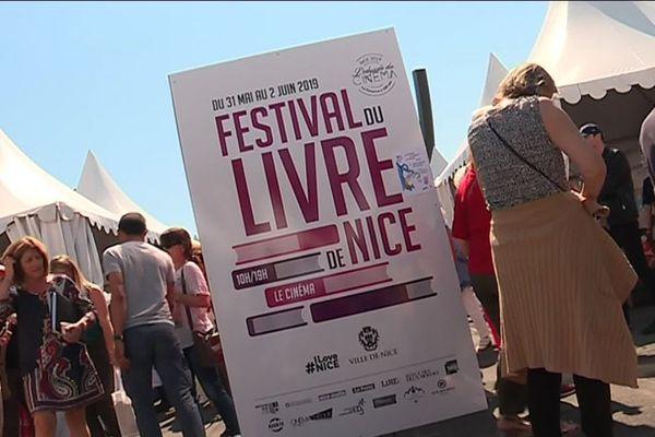 Le Festival du Livre de Nice organisait des rencontres, des séances de dédicaces, des spectacles qui attiraient près de 60.000 visiteurs.