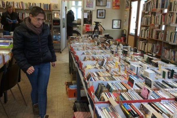 Le déstockage des livres de la librairie du Secours Populaire de Poitiers a lieu jusqu'au 23 novembre 2018.