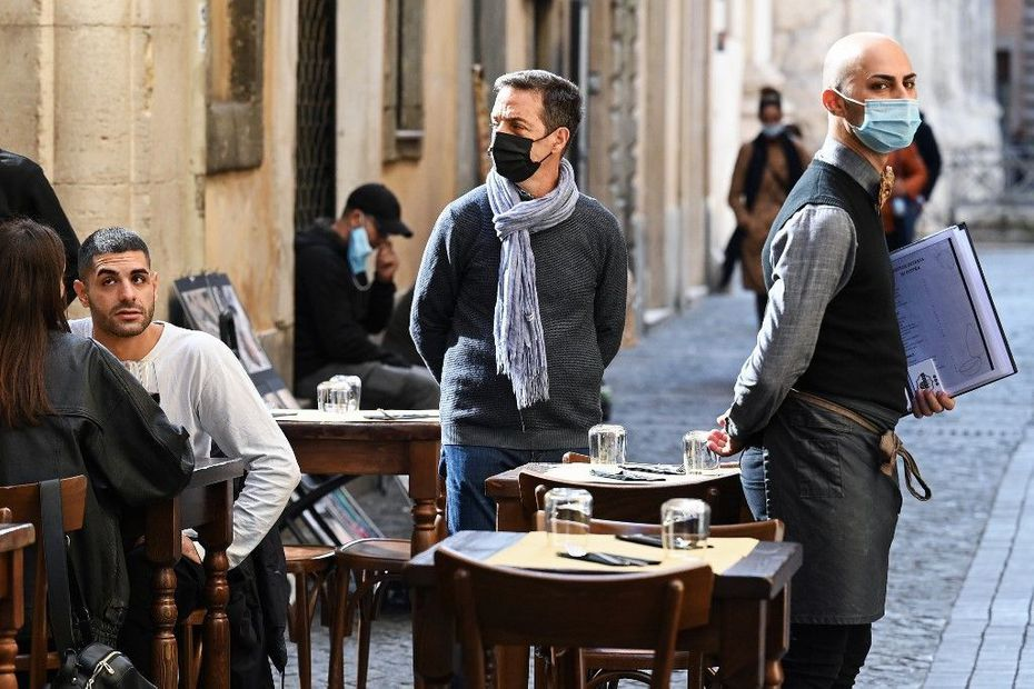 Covid-19 : en Italie, plus de cinéma, plus de théâtre, plus de salles de sport et... des bars-restaurants fermés à 18 h