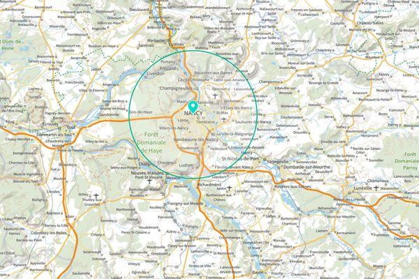 10 km ou 30 kilomètres, rien de plus simple pour calculer sa zone de déplacement