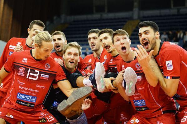 Malgré les nombreuses blessures, les Chaumontais se sont imposés 3-0 face aux Espagnols de Teruel en Ligue des Champions de volley-ball
