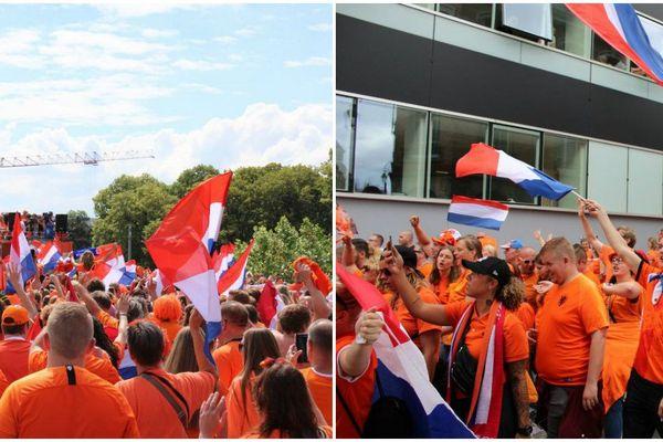 Plus de 6.000 fans hollandais dans les rues de Reims le 20 juin