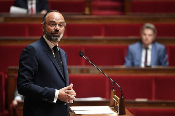 Edouard Philippe s'est exprimé devant les députés de l'Assemblée nationale mardi 28 avril.