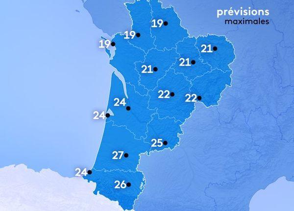 Sous le soleil, les températures sont en hausse dans les Landes.