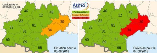 Pollution atmosphérique en Occitanie