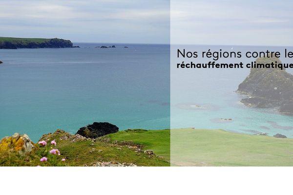 C'est la semaine du réchauffement climatique sur le réseau des sites web des régions de France 3