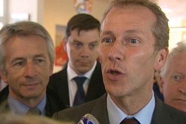 Guillaume Garot, Ministre Délégué à l'Agroalimentaire, Ouistreham le 9 septembre 2013