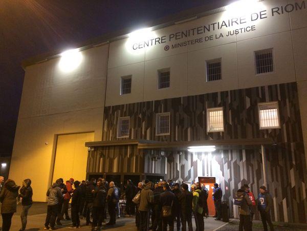 170 surveillants mobilisés lundi 15 janvier au centre pénitentiaire de Riom (63)