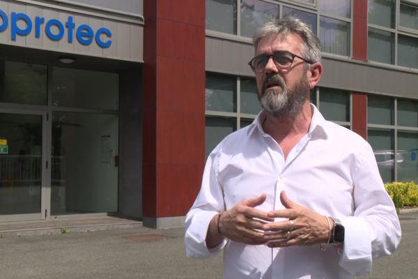 Thierry Haure-Mirande, pdt de l'IUMM Adour-Atlantique