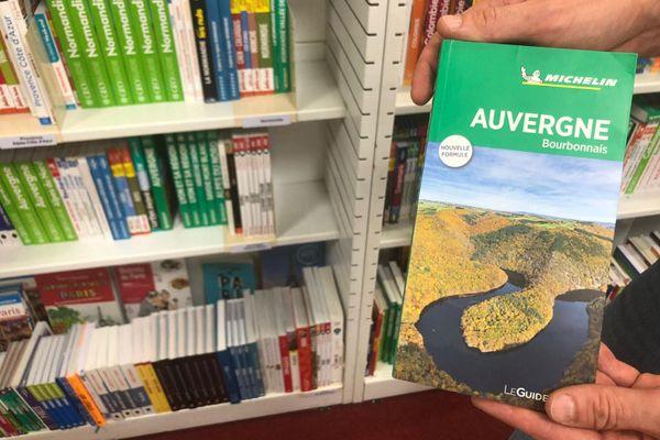 Le guide vert Michelin, édition Auvergne. Un indicateur de la bonne santé du tourisme dans la région.