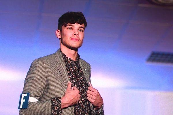 Roméo Langlois participe à l'élection de Mister France 2020.