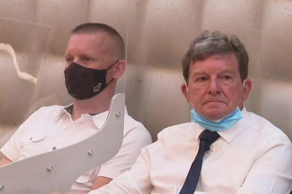 Pour le procès en appel de Willy Bardon à Douai dans le Nord, Fabien Kulik est venu assister et témoigner aux audiences aux côtés de son père, Jackie.