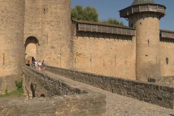 Le pass sanitaire est obligatoire pour entrer dans la cité de Carcassonne