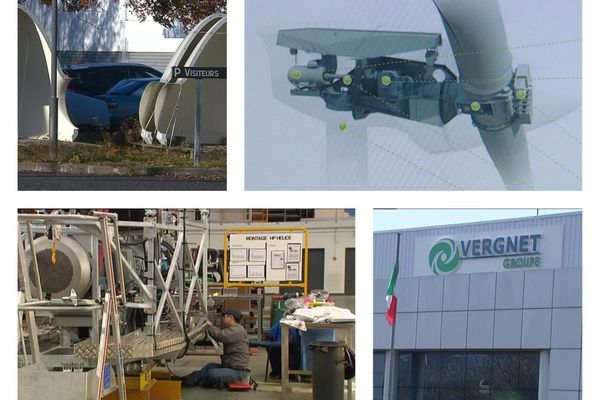 le groupe Vergnet est un spécialiste des énergies renouvelables et l'unique fabricant français d'éoliennes avec une machine capable de résister au passage des cyclones.