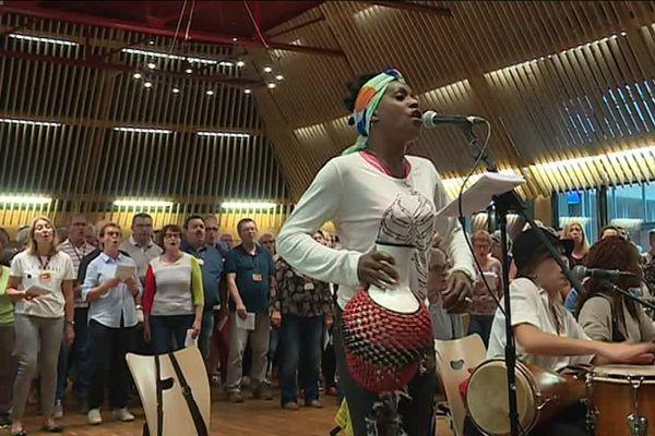 Soy la rumba ! C'est le titre du nouveau spectacle 2018 de la chorale nantais Urban Voices