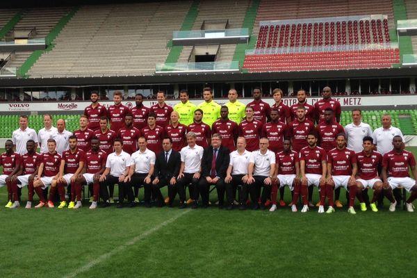 Le FC Metz 2015-2016.