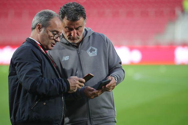 Luis Campos et Christopher Galtier n'emmèneront pas leurs joueurs à Valladolid ce jeudi soir.