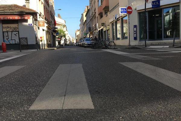 La rue Paul Bert ... La plus longue rue de Lyon vidée !