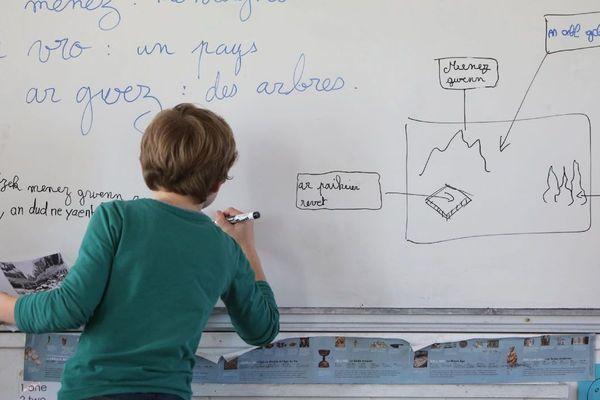 Skoliata 20 000 bugel er c'hlasoù divyezhek ha Diwan en distro-skol 2020 eo ar pal lakaet er steuñv sinet etre ar Stad ha Rannvro Breizh.