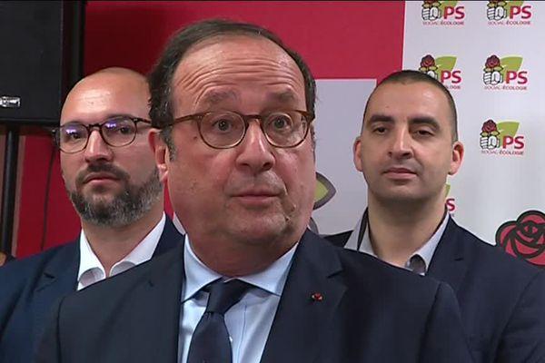 François Hollande à Dijon le 19 juin