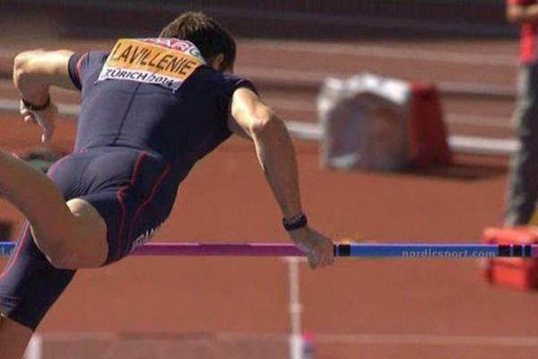 Le perchiste clermontois n'est pas parvenu à dépasser les 5,90 mètres. Mais son objectif de devenir une nouvelle fois champion d'Europe a été atteint.