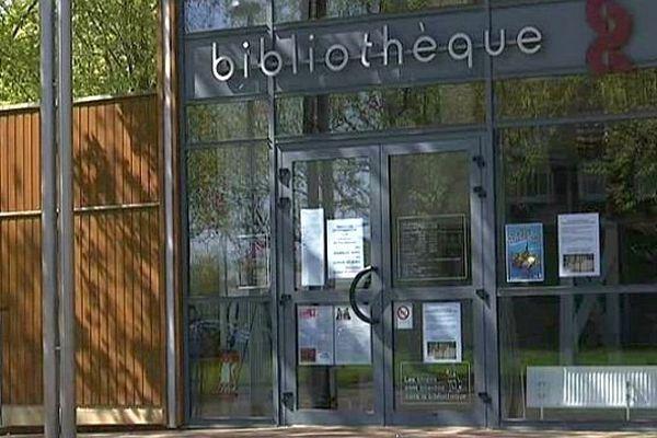 La bibliothèque des Prés-Saint-Jean, à Chalon-sur-Saône