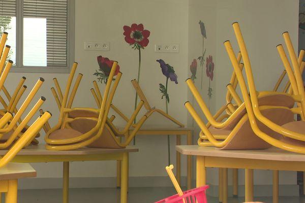 Les classes attendent les élèves ©Francetv