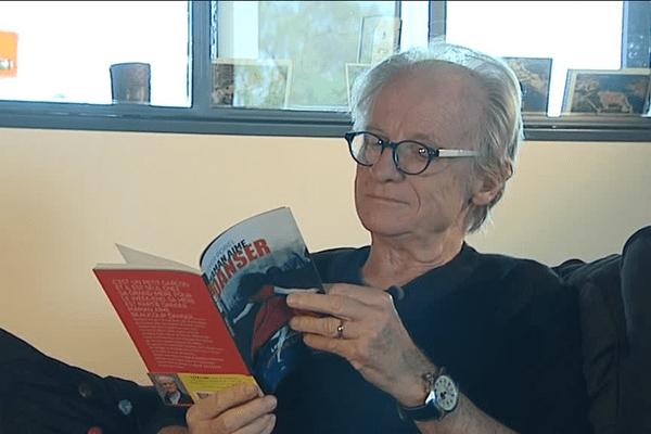 Didier Pobel chez lui avec son dernier livre- Le 13/11/2016