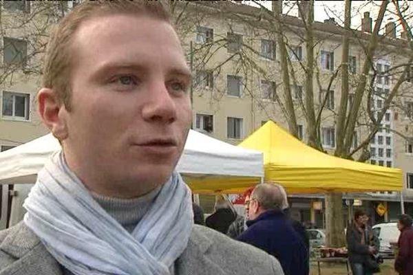Alexandre Vincendet, maire (LR) de Rillieux-la-Pape